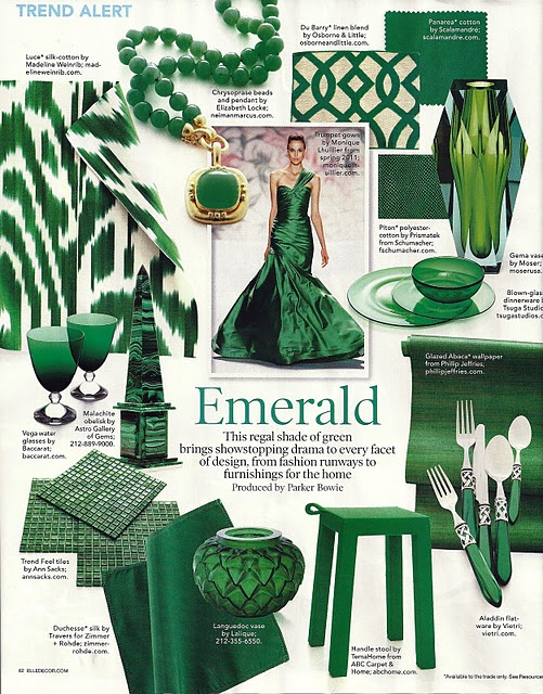 More Impact On Fashion And Home Decor Than Those Of Specific Paint Companies This Year You Will Have No Difficulty Finding Emerald Green Accessories