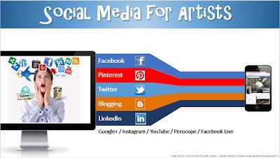 Social Media For Artists - April 2017