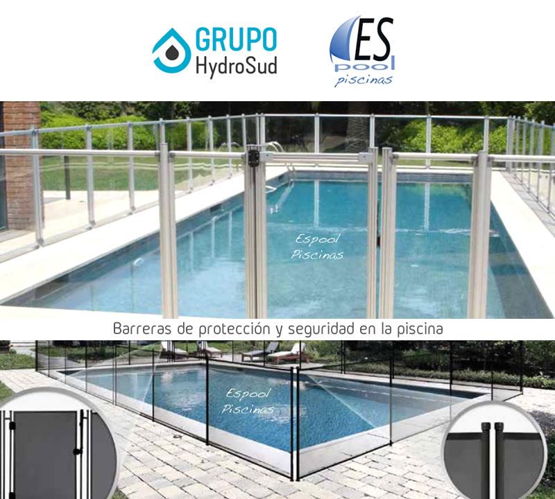 Compra en Espool Piscinas la barrera desmontable de protección y seguridad para la piscina