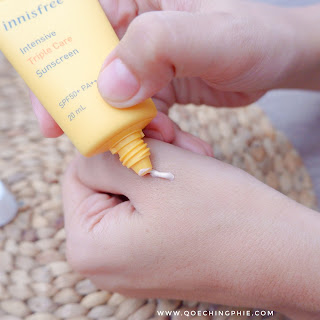 Review SunBlock Innisfree  Sunscreen Spf 50+ PA++++