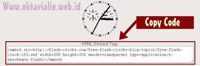 Cara Memasang Jam Di Blog Keren Unik