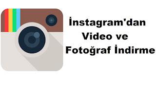 instagram'dan video indirme makale görseli