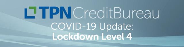 COVID-19 Update: Lockdown Level 4
