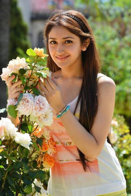 Sayesha Saigal Upcoming Actress Hot Pics - Sayesha Saigal Sexiest Images & Photo Gallery|Vanamagan Actress Hot Stills|