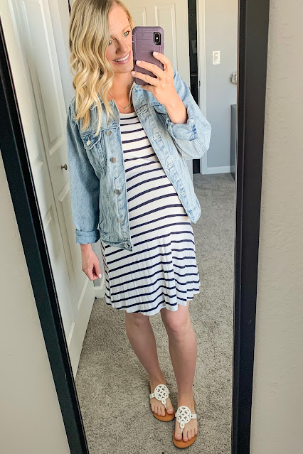 Third trimester outfit idea