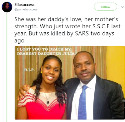 Lady and lover Allegedly Killed By men of SARS
