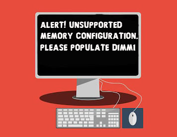 Fix Unsupported Memory Configuration Please Populate DIMM1