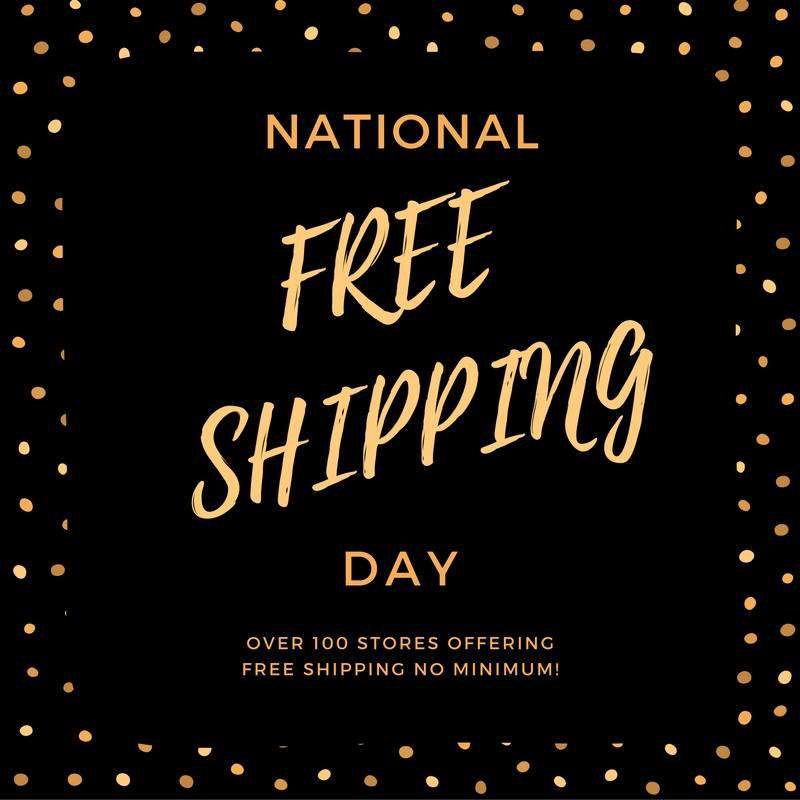 National Free Shipping Day Wishes for Whatsapp