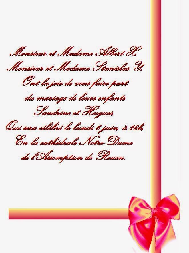 model carte invitation mariage invitation mariage carte mariage texte mariage cadeau mariage. Black Bedroom Furniture Sets. Home Design Ideas