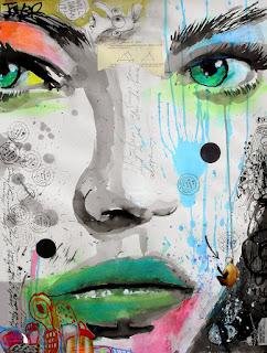 coloridos-rostros-de-chicas- en-cuadros-modernos-y-abstractos