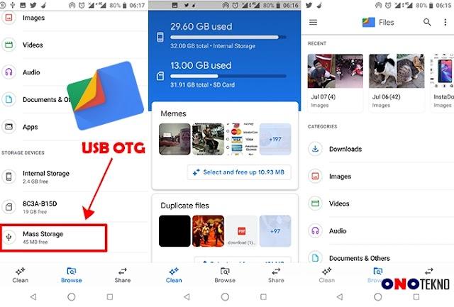 Files Go Sudah Support OTG