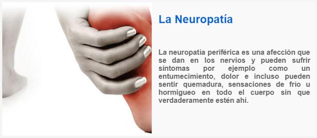 La Neuropatía periférica es una afección que se dan en los nervios