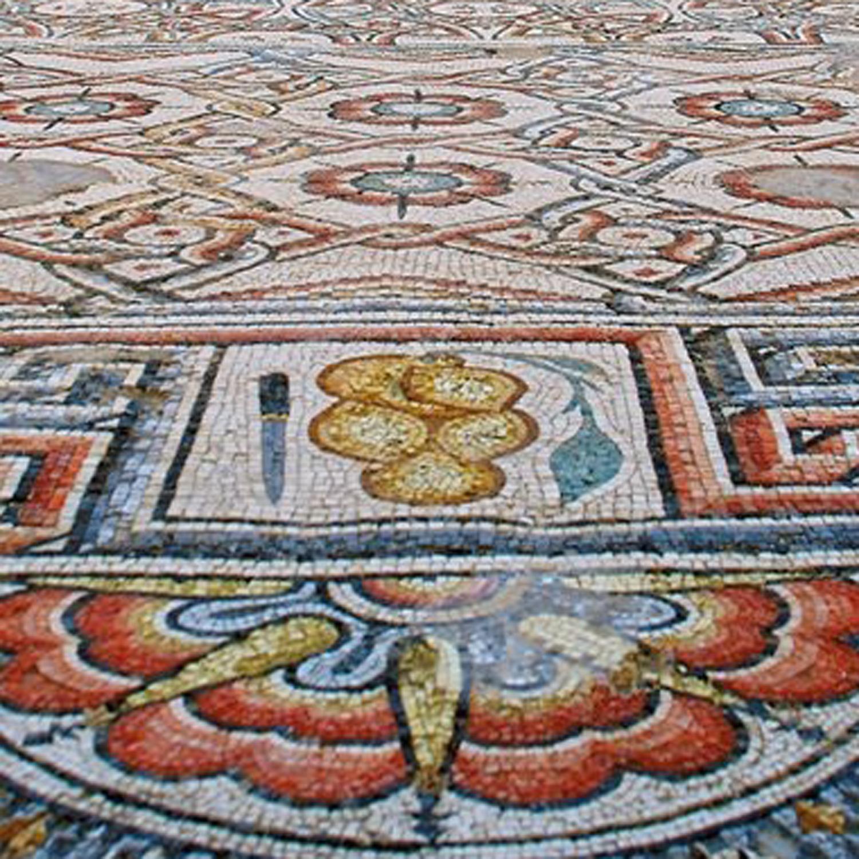 the magnificent mosaics of khirbat al mafjar architectural