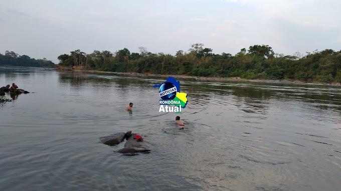 Irmãos de 10 e 19 anos morrem afogados no Rio Urupá em RO