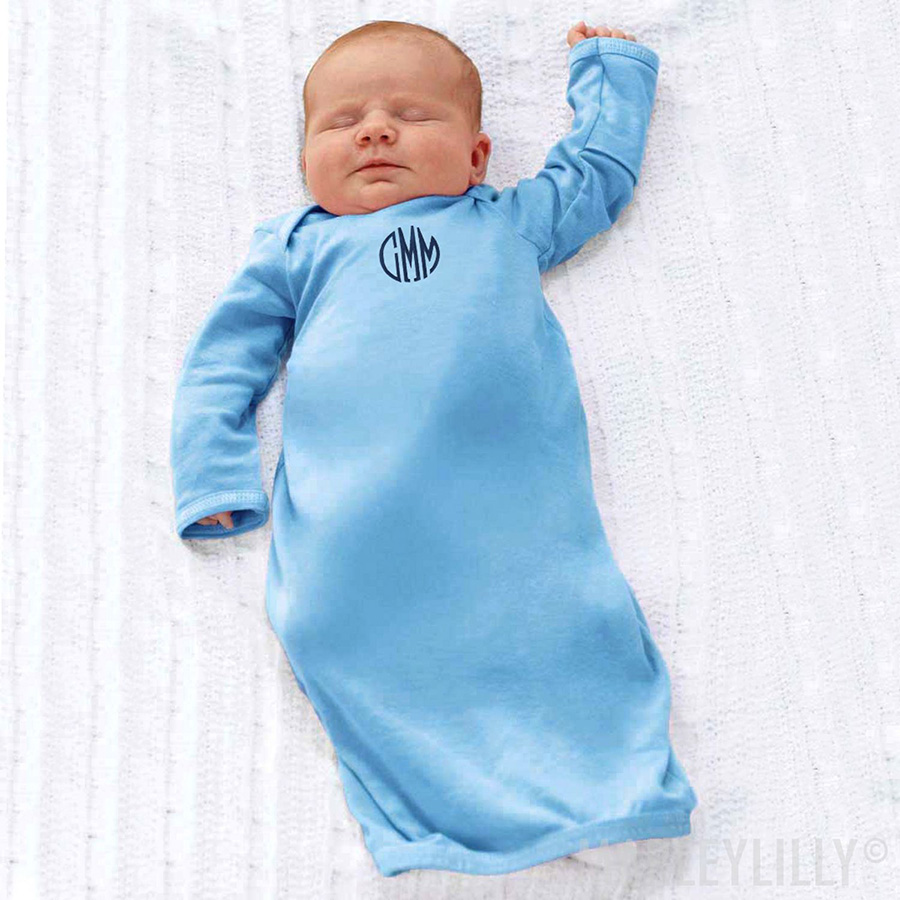 Traditional Monogrammed Layette