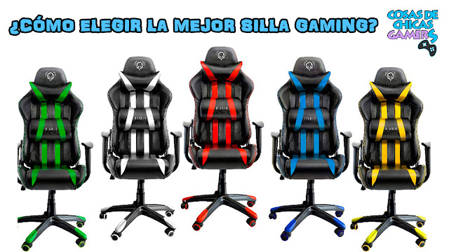 Cómo elegir la mejor silla gaming