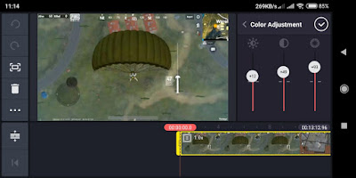 Kinemaster, aplikasi android untuk memperjelas video 02