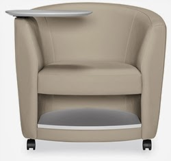 Sirena Tablet Arm Chair by Global