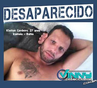 Homem desaparecido