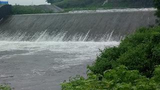पीथमपुर नगर पालिका क्षेत्र में मूसलाधार बारिश