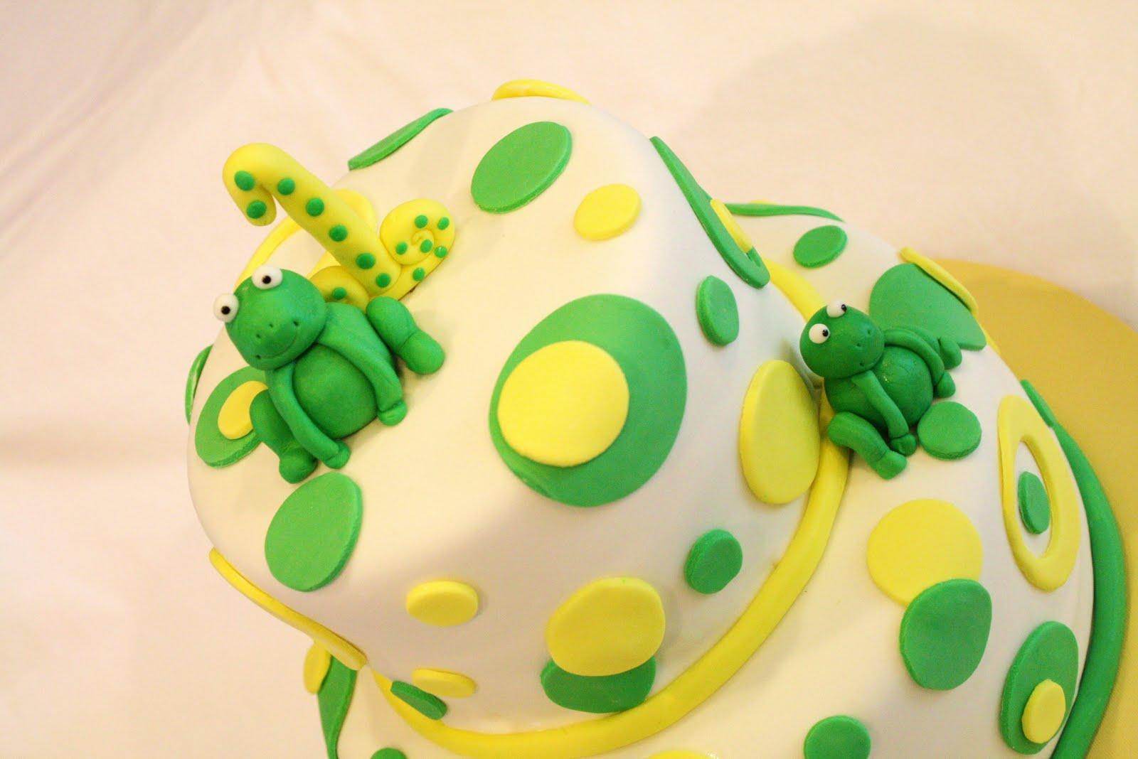 Sweet Frog Birthday Cakes