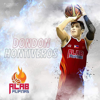 Dondon Hontiveros with Alab Pilipinas