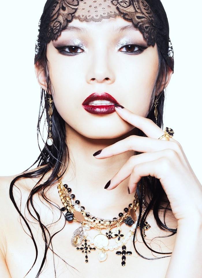 Asian Models Blog Editorial Xiao Wen Ju  Grace Gao In
