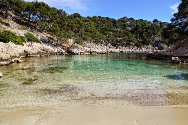 port-pin plage -cassis