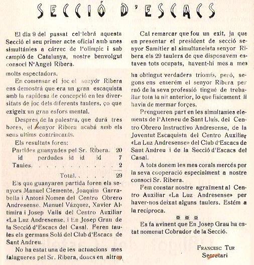 Obra Cristiana nº 75, Octubre de 1928