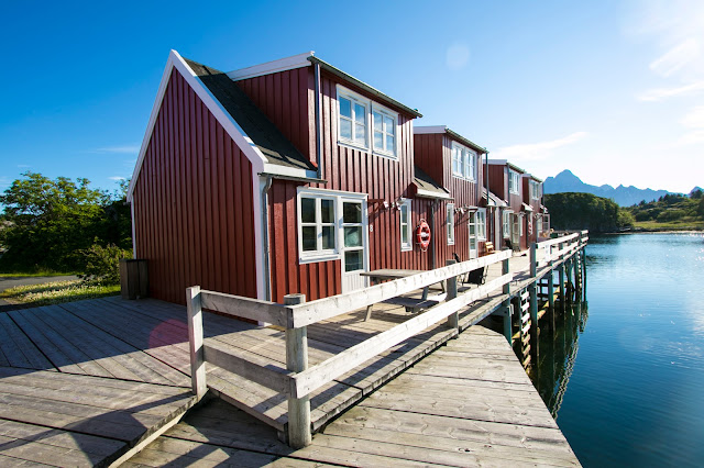 Rorbuer a Kabelvag-Isole Lofoten
