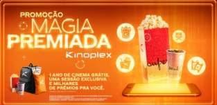 Promoção Magia Premiada Kinoplex Cinema Grátis Por 1 Ano