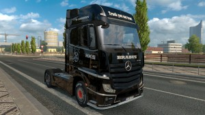 Brabus Skin for Mercedes MP4