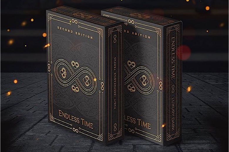 "Cartes à jouer ""Endless Time"" : version de luxe sur Kickstarter 2"