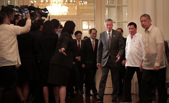 Prime Minister Of Singapore Gives Message To President Duterte: 'Singapore and the Philippines Enjoy a Long-Standing Friendship'