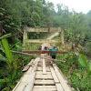 Miris, Jembatan Gantung di Merangin Jambi Ancam Keselamatan Warga