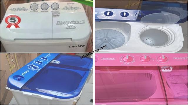 Review Harga Mesin Cuci Sharp 8 kg 2 Tabung Terbaru |Fitur, Speksifikasi, Cara Membersihkan, Merawat, Serta Kekurangan dan Kelebihannya