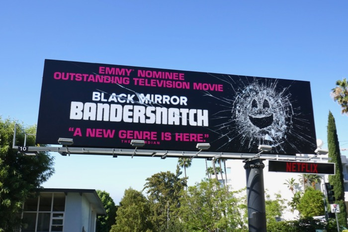 Black Mirror Bandersnatch Emmy nominee billboard