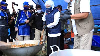 5.000 Santri Ponpes Darussalam Dikarantina, Gubernur Khofifah Pastikan Tercukupi Kebutuhannya Sekaligus Hapus Stigma