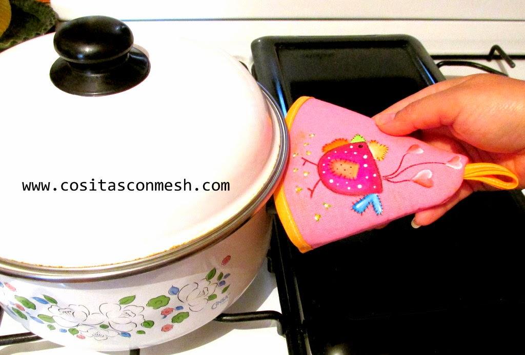 Manualidades para la cocina cositasconmesh - Como hacer manualidades faciles ...