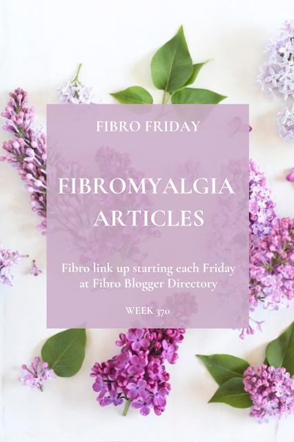 Fibro Friday blog link up week 370
