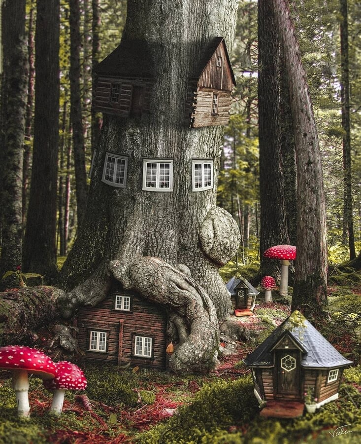 04-The-house-in-the-enchanted-tree-Benny-Productions-www-designstack-co