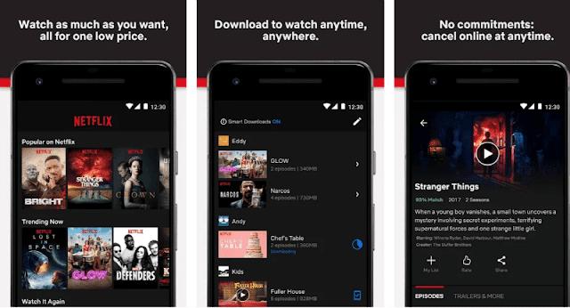 تحميل تطبيق نيتفلكس Netflix مهكر للاندرويد اخر اصدار