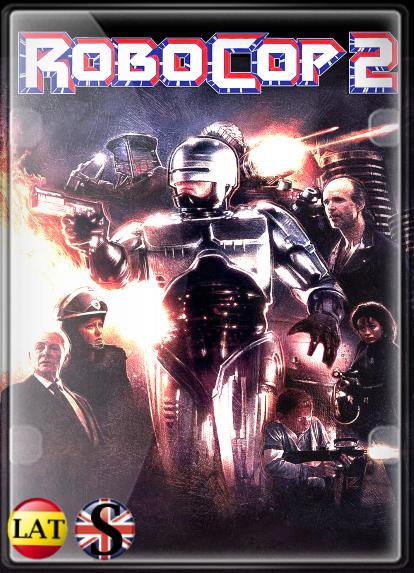 RoboCop 2 (1990) HD 720P LATINO/INGLES