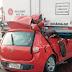 Homem morre ao bater carro na traseira de caminhão em pedágio na Rodovia Anhanguera em Leme