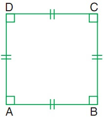 Materi Matematika Kelas 3 SD, Sifat-sifat Persegi dan Persegi Panjang