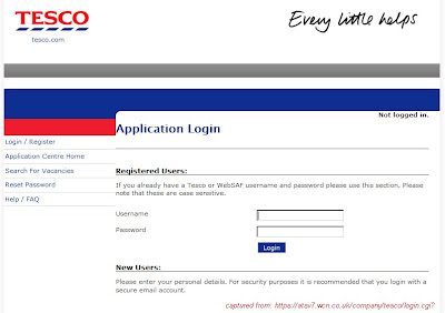 Tesco Application Form Pdf