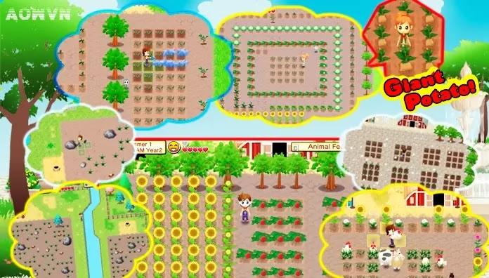 AowVN.org m%2B%25289%2529 - [ Offline ] Harvest Moon: Seeds of Memories | Huyền thoại game nông trại đã có trên Android & IOS