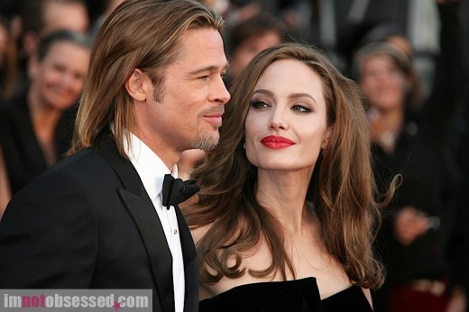 where did brad and angelina meet