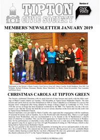 TCS Newsletter Jan 2019
