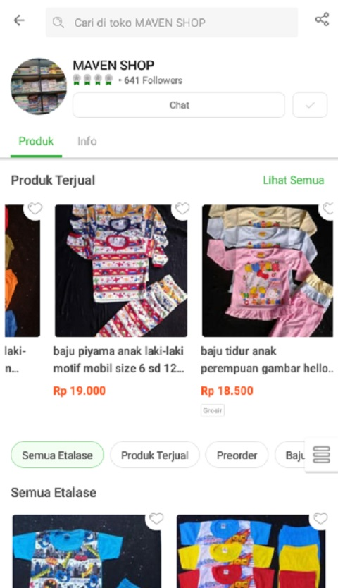 MAVEN SHOP Menjadi Toko Baju Anak Terlaris di Tokopedia